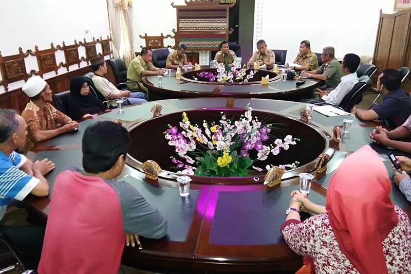 Pembangunan Kopindo Belum Rampung, Wali Kota Minta Pedagang Bersabar