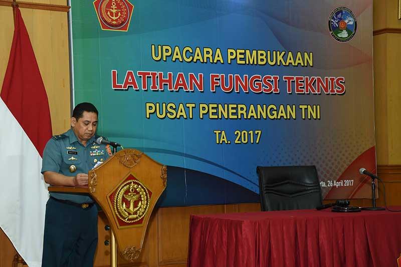 Puspen TNI Selenggarakan Latihan Fungsi Teknis 2