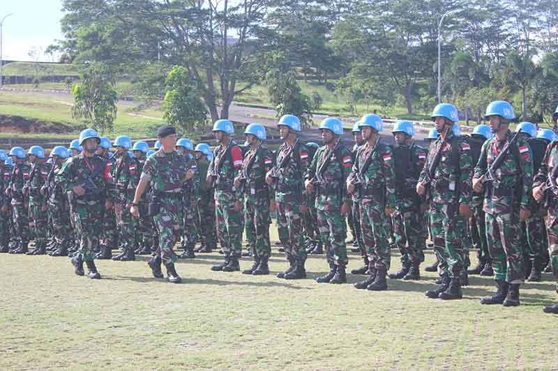TNI Siapkan Satgas Kompi Zeni Konga XXXVII-D ke Republik Afrika Tengah