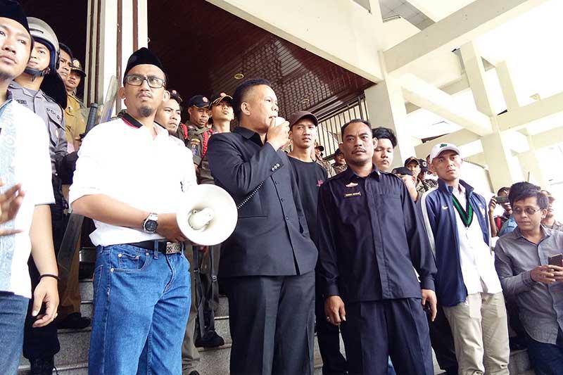 Pattimura Sambut Masa Aksi yang Menuntut Evaluasi untuk Kapolda Lampung