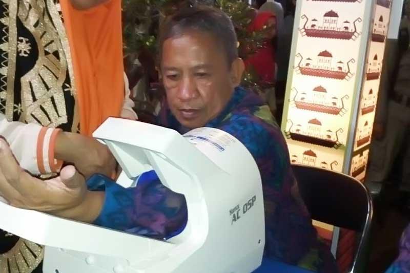 Stand RSUD Ahmad Yani Metro Layani Pemeriksaan Tensi dan Gula Darah Gratis 3