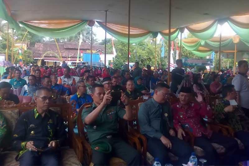 Tim Penilai Lomba Pekon Tingkat Provinsi Lampung Lakukan Penilaian di Pekon Sriwungu 2