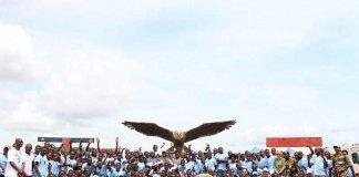 Peringatan Peacekeepers Day di Camp Kontingen Garuda Afrika Tengah