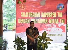 Puspen TNI Gelar Buka Puasa Bersama Wartawan Sebagai Mitra TNI 01