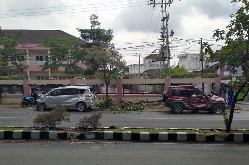 Temani Ibu Rawat Inap di RS Mardi Waluyo Metro, Sukirno Meregang Nyawa Tersambar Roda Empat 01