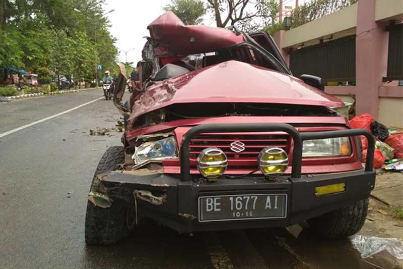 Temani Ibu Rawat Inap di RS Mardi Waluyo Metro, Sukirno Meregang Nyawa Tersambar Roda Empat 02