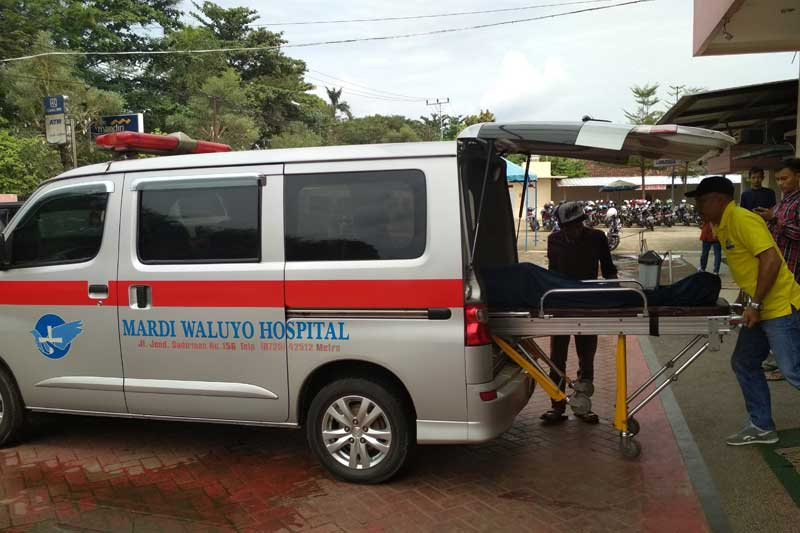 Temani Ibu Rawat Inap di RS Mardi Waluyo Metro, Sukirno Meregang Nyawa Tersambar Roda Empat 05
