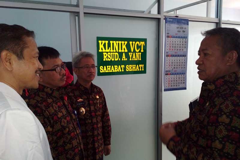 Cegah Sejak Dini Penyebaran HIV AIDS, RSUD Ahmad Yani Kota Metro Buka Pelayanan Klinik VCT Sahabat Sehati 02