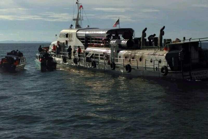 Bakamla RI Berhasil Selamatkan ABK dan Penumpang Kapal KM Tawindo II dari Kebakaran