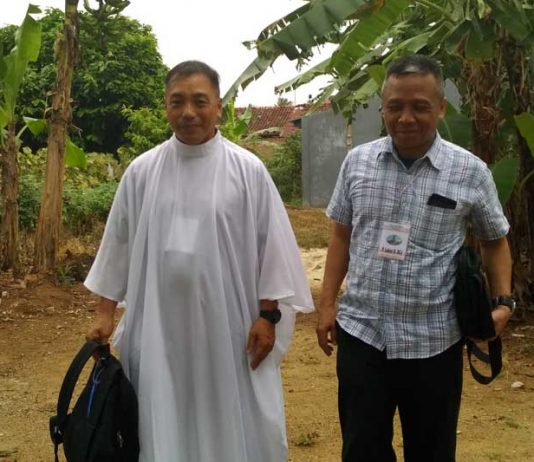 Pastor Paroki Dari Mindanau Filipina Terkesan Dengan Keharmonisan dan Kerukunan Umat Beragama di Kota Metro 01
