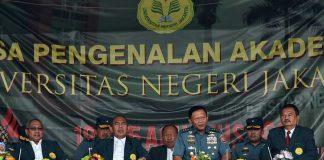 Kasum TNI : Mahasiswa Indonesia Harus Tingkatkan Wawasan Kebangsaan dan Bela Negara 01