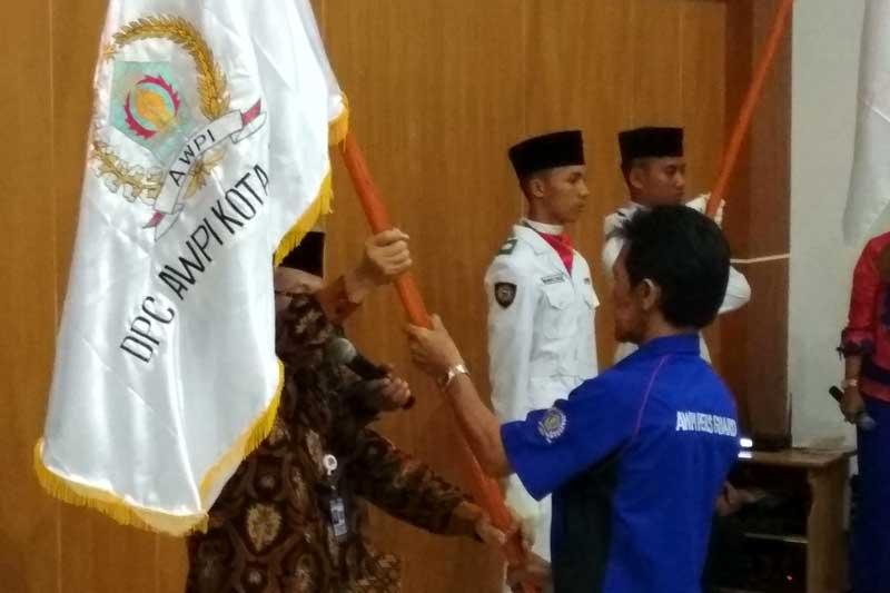Verry Sudarto Resmi di Kukuhkan Sebagai Ketua DPC AWPI Kota Metro Periode 2017-2022 02