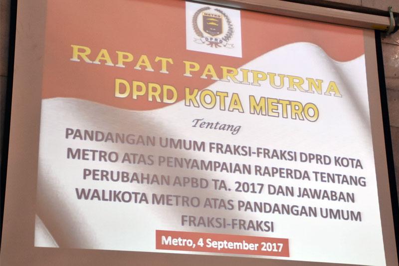 DPRD-Metro-Gelar-Paripurna-Raperda-Perubahan-APBD-2017