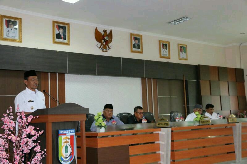 Pemkab Pringsewu Bangun Duan Jalur Tugu Gajah Pasar Induk02