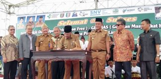 Pertama-Kali-di-Sumatera,-Pringsewu-Deklarasikan-Kabupaten-ODF-100-%