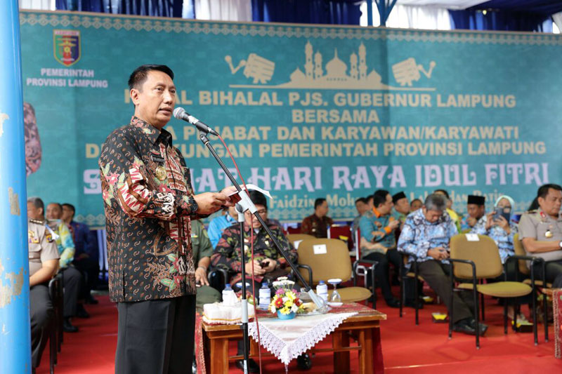 Gelar-halal-Bihalal,-Pemprov-dan-Forkopimda-Pererat-Silaturahmi-Untuk-Pembangunan-Lampung-01