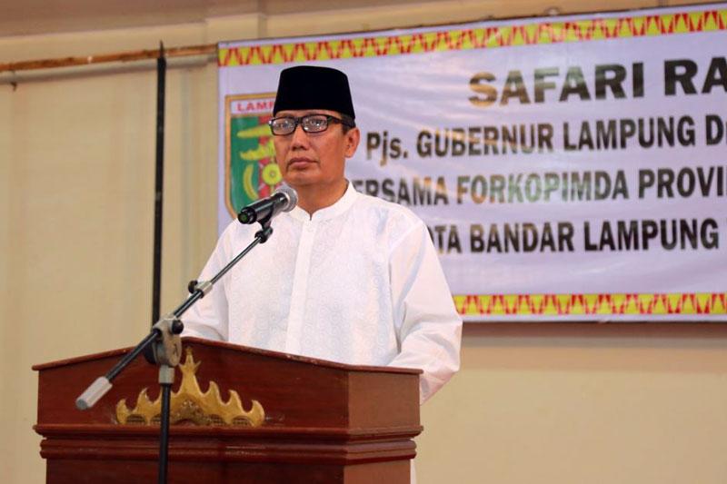 Jaga-Kesinergitasan-Kerja,-Pemprov-Lampung-dan-Pemkot-Bandar-Lampung-Laksanakan-Safari-Ramadhan-Bersama-01