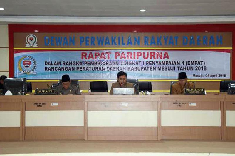 DPRD-Mesuji-Gelar-Paripurna-Penyampaian-4-Ranperda-Pemkab-Mesuji-TA.-2018-01