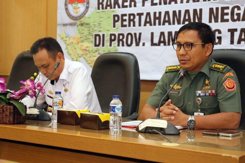 Raker-Pemprov-Lampung-dan-Kemenhan-Bahas-Rencana-Wilayah-Pertahanan