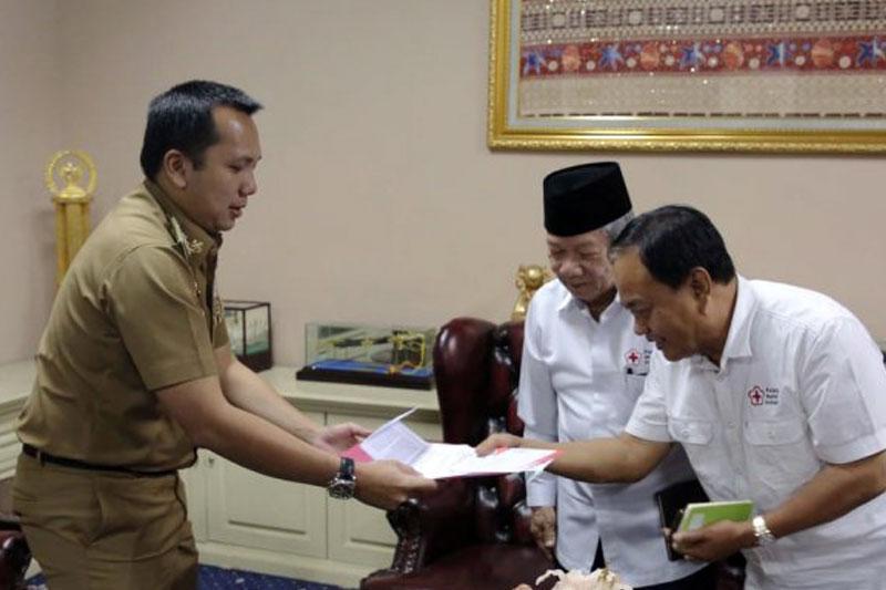 Pemprov-Lampung-Bersama-PMI-Kumpulkan-Bantuan-Korban-Gempa-Palu-dan-Donggala