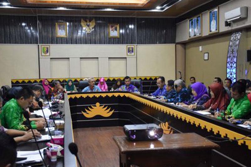 Gelar-Rapat-Evaluasi-Kegiatan-BSW,-Tiga-Kecamatan-di-Kota-Metro-Sampaikan-Permasalahan-di-Lapangan