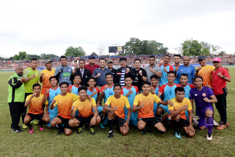 Laga-Amal-Persija-Vs-Lampung-All-Stars-Sukses,-Ridho-Minta-Dijadikan-Momentum-Kebangkitan-Sepak-Bola-Lampung