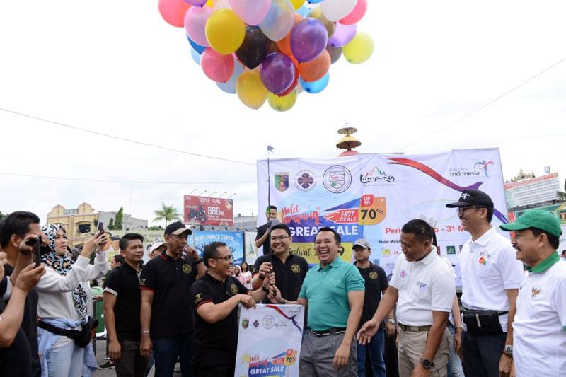 Pulihkan-Ekonomi-Rakyat-Pasca-Tsunami,-Gubernur-Ridho-Buka-Lampung-Hotel-Great-Sale-dan-Food-Festival-2019