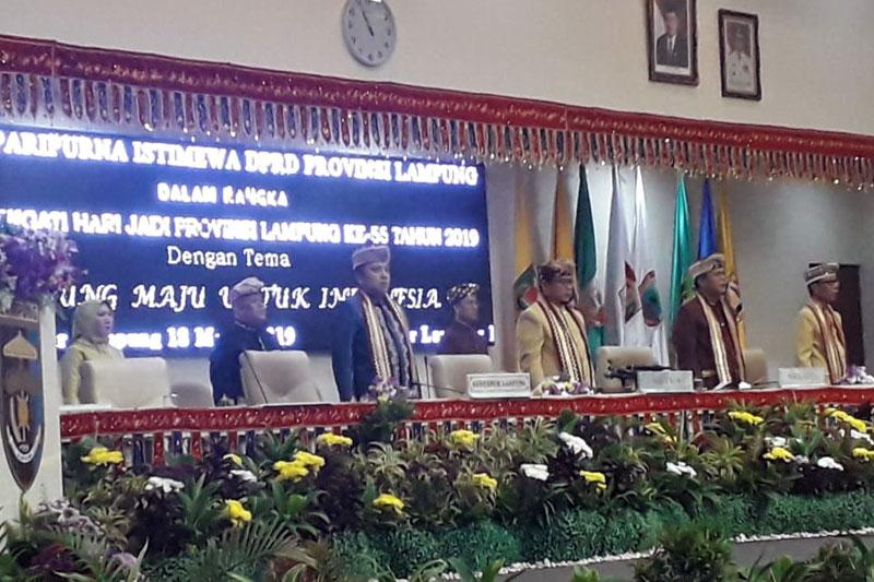 Rapat-Paripurna-Istimewa-Peringatan-HUT-Lampung-Ke-55,-Lampung-Maju-Untuk-Indonesia-01
