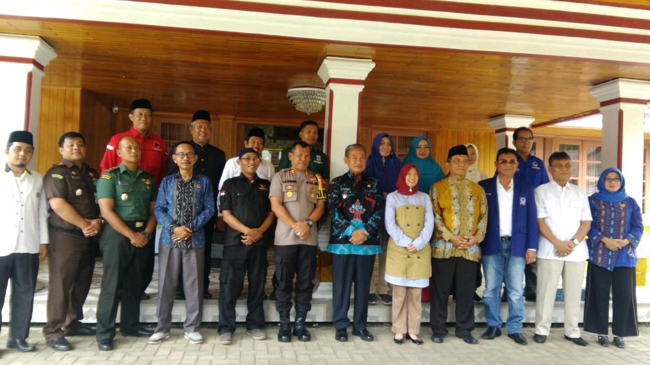 Ketua DPRD Metro : Di Kota Metro, Pemilu Serentak 2019 Harus Riang, Gembira, Ceria dan Damai