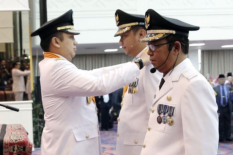 Gubernur-Ridho-Ficardo-Lantik-Agung---Budi-Utomo-Menjabat-Bupati-dan-Wakil-Bupati-Lampung-Utara-2019-2024-01