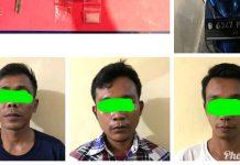 Polres Metro, Berhasil Amankan 3 Pengguna Sabu di Hadimulyono Timur