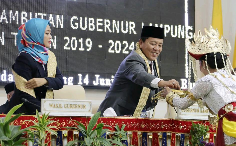Ikhlaskan Diri Untuk Lampung, Arinal Djunaidi Paparkan 6 Misi dan 33 Janji Kerja Program Prioritas Dalam Sidang Paripurna 01
