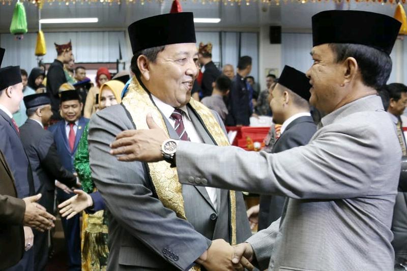 Ikhlaskan Diri Untuk Lampung, Arinal Djunaidi Paparkan 6 Misi dan 33 Janji Kerja Program Prioritas Dalam Sidang Paripurna 02