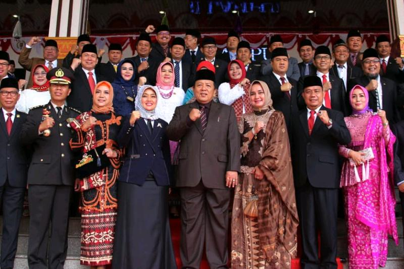 DPRD Provinsi Lampung Gelar Paripurna HUT Proklamasi Kemerdekaan RI Ke-74 03