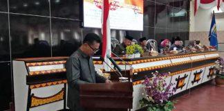 Gelar Paripurna Penyampaian 4 Raperda, Beberapa Fraksi DPRD, Kritik Kinerja Pemkot Metro