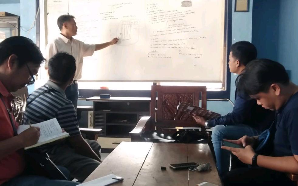 Isi Waktu Luang, PWI Metro Gelar Diskusi dan Pelatihan Menulis Berita