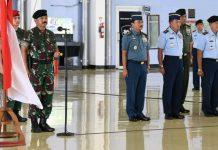 41 Perwira Tinggi TNI Dapatakan Kenaikan Pangkat 01