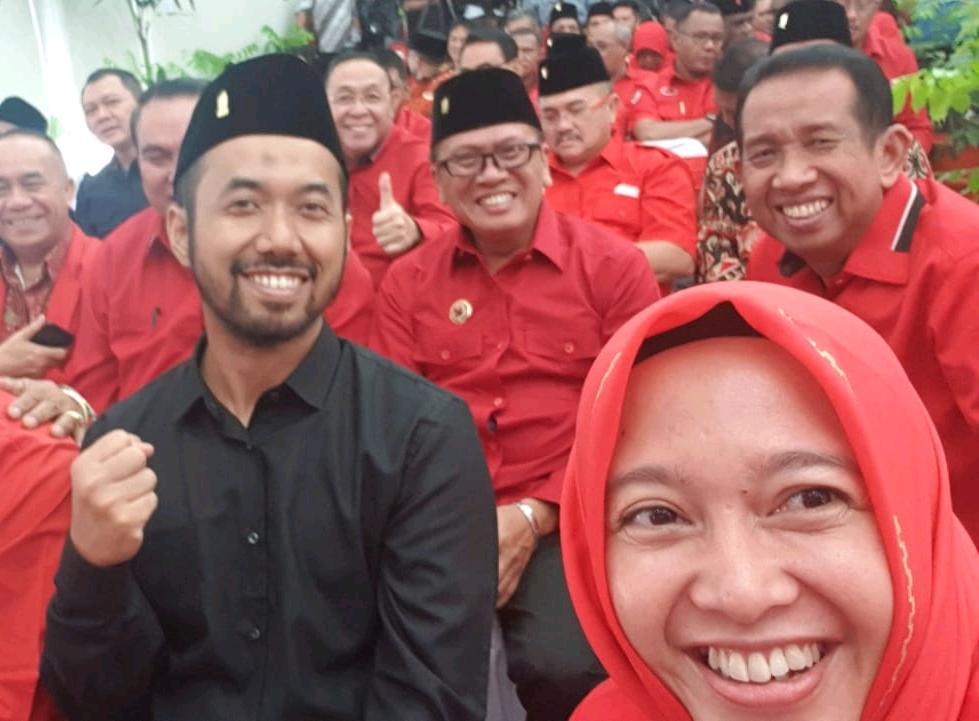 Resmi Diusung PDIP, Anna-Fritz Semakin Mantap Bertarung Dalam Pilkada Serentak 2020 di Kota Metro