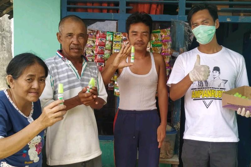 Dukung Kebijakan Pemerintah, ABDY Bagikan Ribuan Hand Sanitizer