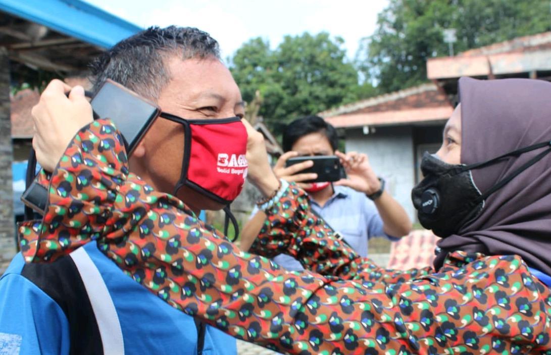 Apresiasi Kinerja Pers Ditengah Pandemi, Baguna Metro Salurkan 1 Ton Beras ke Wartawan 02