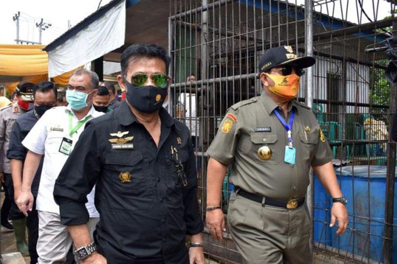 Kunjungi Lampung, Mentri Pertanian RI Dukung Kota Metro Jadi Percontohan Lumbung Peternakan 02