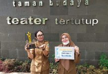 Penampilan Teater Kejora SMA N 4 Metro, Pukau Dewan Juri Liga Teater SMK/SMA se- Provinsi Lampung