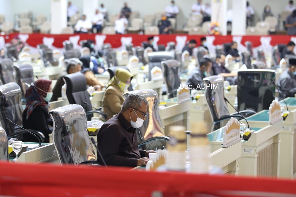 DPRD Lampung Gelar Paripurna Istimewa HUT RI Ke-72 03