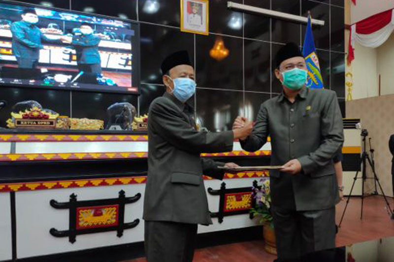 DPRD Kota Metro Gelar Rapat Paripurna KUPA-PPAS Perubahan APBD 2020 01