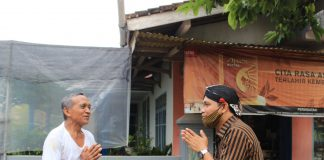 Silaturahmi ke Warga Yosodadi, Santri Ponpes Krapyak-Jogja di Doakan Jadi Walikota Metro 01