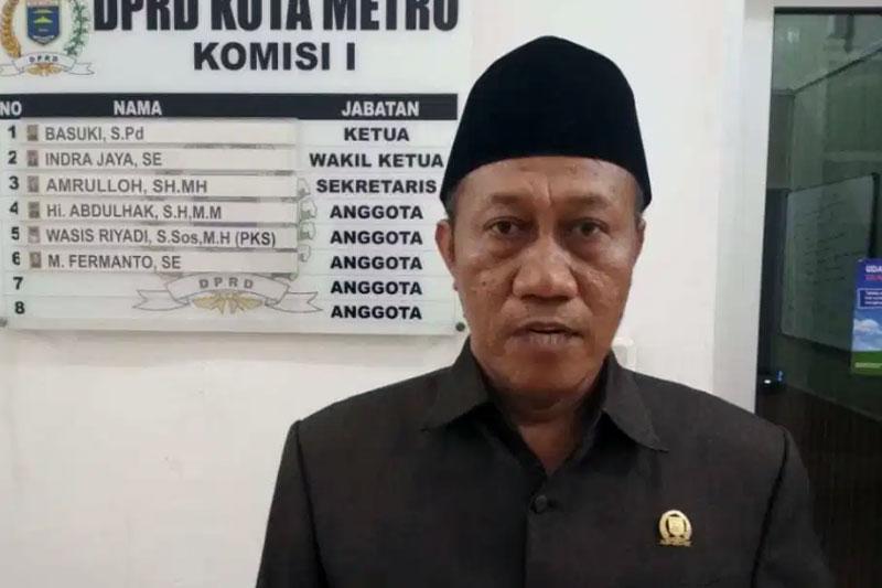 DPRD Metro : Jabatan Sekda Harapannya Asli Orang Metro