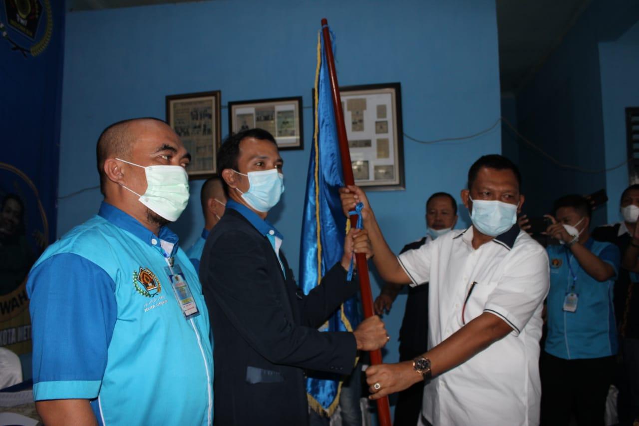 Konferkot ke-VI PWI Metro, Rino Panduwinata Terpilih Jadi Ketua PWI Metro Periode 2021-2024
