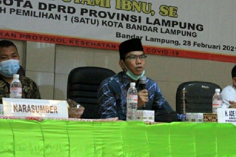 Dirasa Kian Memudar, DPRD Lampung Gelar Sosialisasi, Pembinaan Ideologi dan Wawasan Kebangsaan